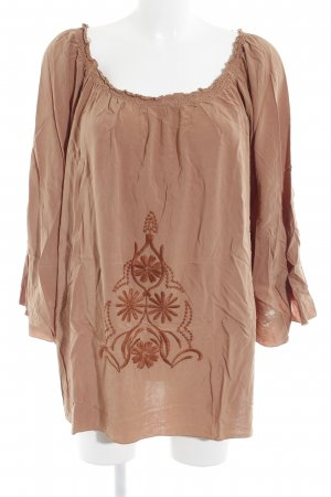 SusyMix Tuniekblouse brons casual uitstraling