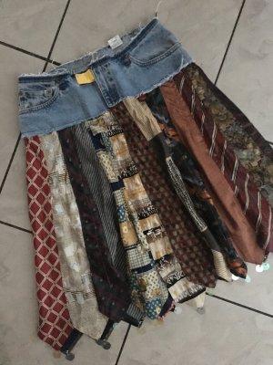 John Lewis Jupe en jeans multicolore tissu mixte