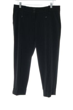 Suzanna Pantalon 3/4 noir style simple