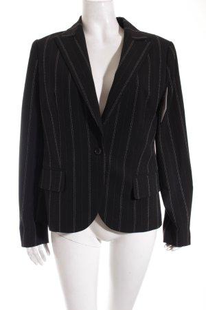 Suzanna Blazer schwarz-weiß Nadelstreifen Business-Look
