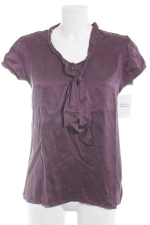 Suzanna Blusentop purpur schlichter Stil