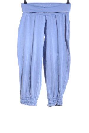 Suzanna Pantalón estilo Harem azul look casual