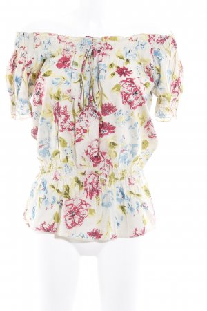 Suzanna Kurzarm-Bluse florales Muster Casual-Look