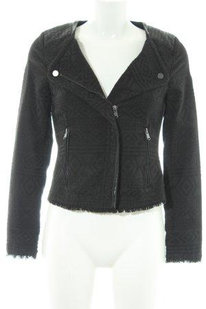 Suzanna Kurzjacke schwarz extravaganter Stil