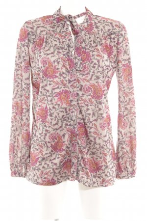 Suzanna Langarm-Bluse florales Muster Romantik-Look