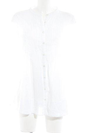 Suzanna Langarm-Bluse weiß Casual-Look