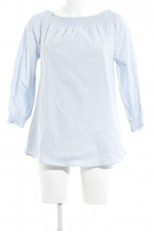 Suzanna Long-Bluse himmelblau Casual-Look