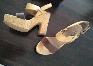 Suzanna High Heel Sandal grey brown