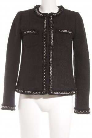Suzanna Knitted Blazer black casual look