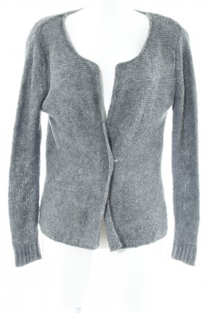 Suzanna Strickjacke dunkelgrau Casual-Look