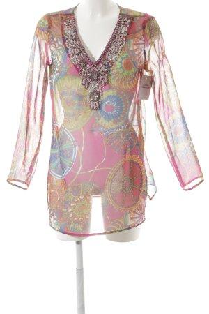 Suzanna Tunikabluse abstrakter Druck Street-Fashion-Look