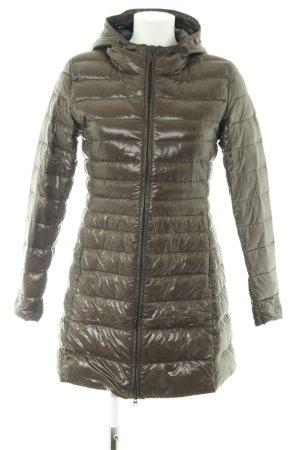 Suzanna Übergangsjacke khaki Steppmuster Casual-Look