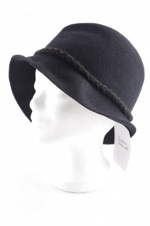 Suzanna Woolen Hat black casual look