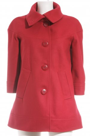 Suzanna Wolljacke rot Casual-Look