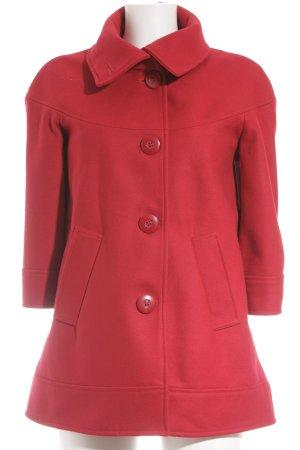 Suzanna Veste en laine rouge style décontracté