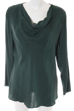 SVB Exquisit Langarm-Bluse petrol Elegant