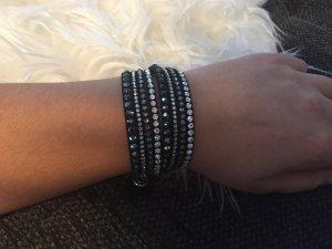 Swarocski Slake Armband schwarz