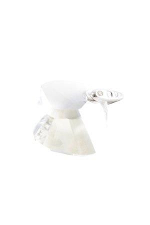 Swarovski Anhänger weiß-hellgrau Elegant