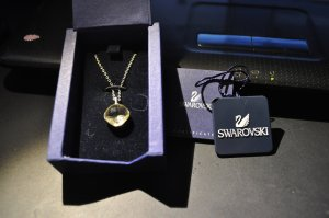 Swarovski Collier multicolore