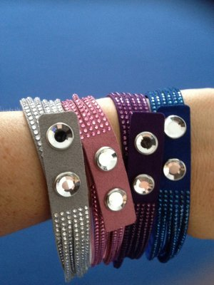 Swarovski Arm Decoration multicolored