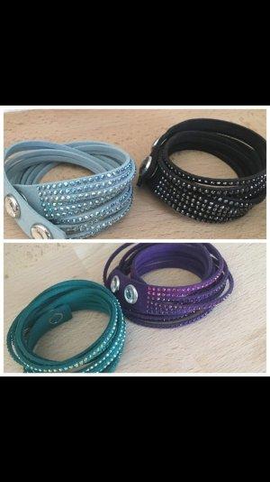 Swarovski Armbänder in verschiedenen Farben