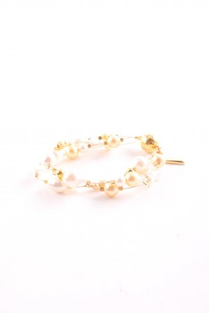 Swarovski Armband goldfarben-wollweiß Casual-Look