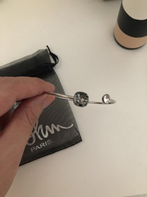 Swarovski Mouwband grijs