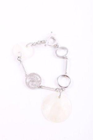 Swarovski Bracelet argenté style décontracté