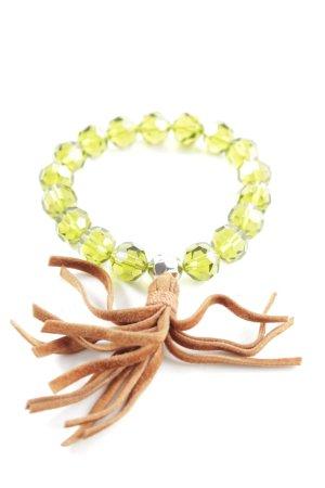 Swarovski Armband grün-braun Casual-Look
