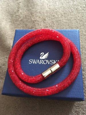 Swarovski Armband Glitzer Rot