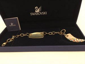 Swarovski Armband Gold Neu