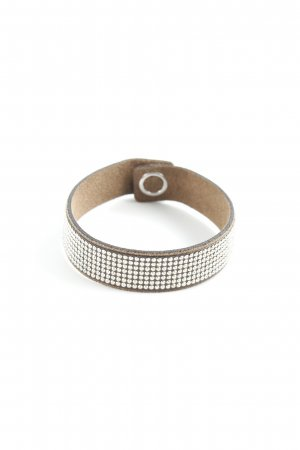 Swarovski Armband hellbraun Business-Look