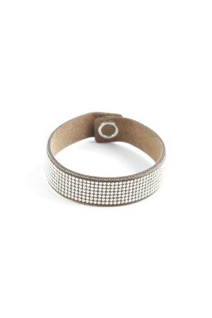 Swarovski Bracelet marron clair style d'affaires