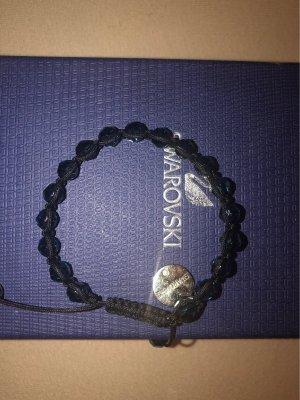 Swarovski Armband donkerblauw