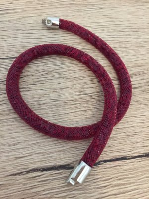 Swarovski Armband Kette pink Glitzer