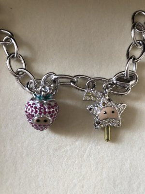Swarovski Charm Bracelet silver-colored-white