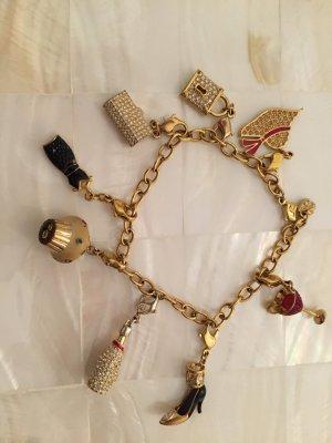 Swarovski Armband mit charms Anhänger Gold