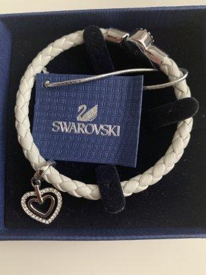 Swarovski Armband mit lederband