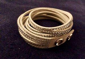 Swarovski Armband Slake Kristalle NEU Hellgrau