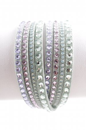 Swarovski Armband türkis Glitzer-Optik