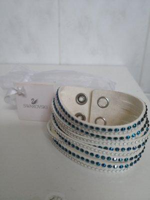 Swarovski Armband weiß blau