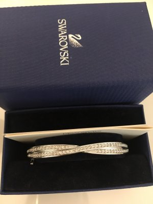 Swarovski Bangle silver-colored