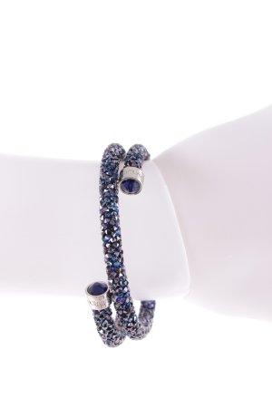 Swarovski Armreif dunkelblau-blau extravaganter Stil