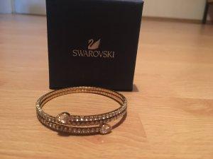 Swarovski Armreif rosegold