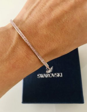 Swarovski Armreif Silber Rosé