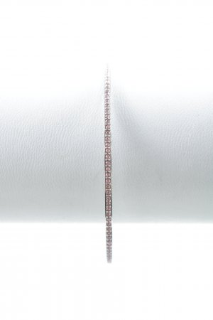 Swarovski Bangle silver-colored-pink elegant