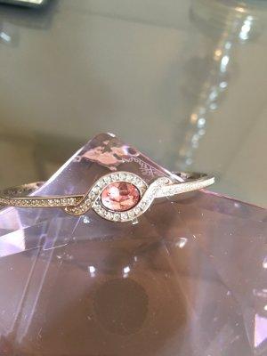 Swarovski Armspange Rosé und Silber