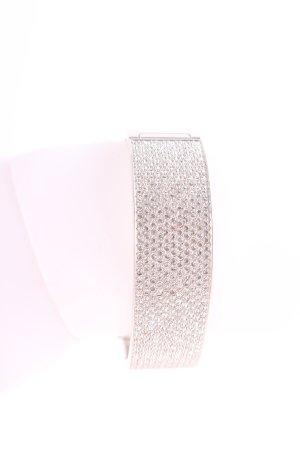 Swarovski Brazalete color plata elegante