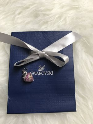Swarovski Charm Anhänger Kette Armband Erdbeere