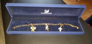 Swarovski Charm Bracelet gold-colored
